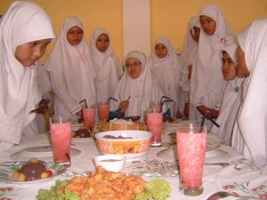 Penilaian Table Manner